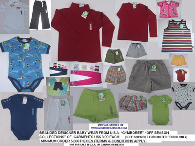 Royal Camel Trading  L.L.C. - GYMBOREE GARMENTS PIC 1 - cpoy2.jpg