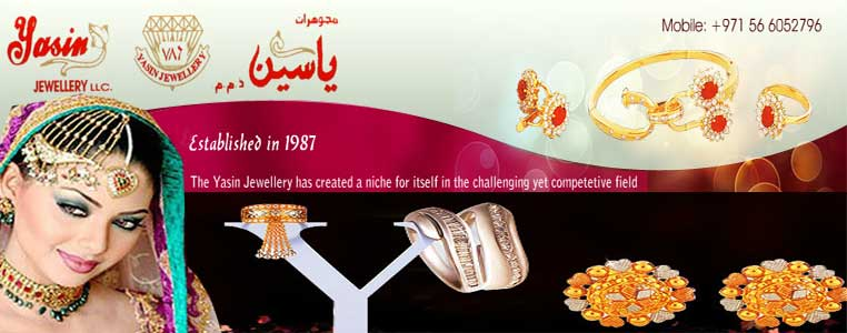 Yasin Jewellery LLC Banner