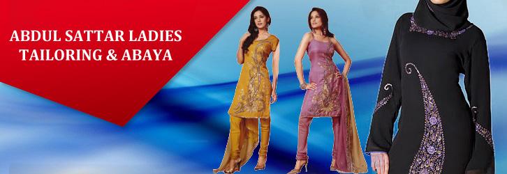 Abdul Sttar Ladies Tailoring & Abaya Banner